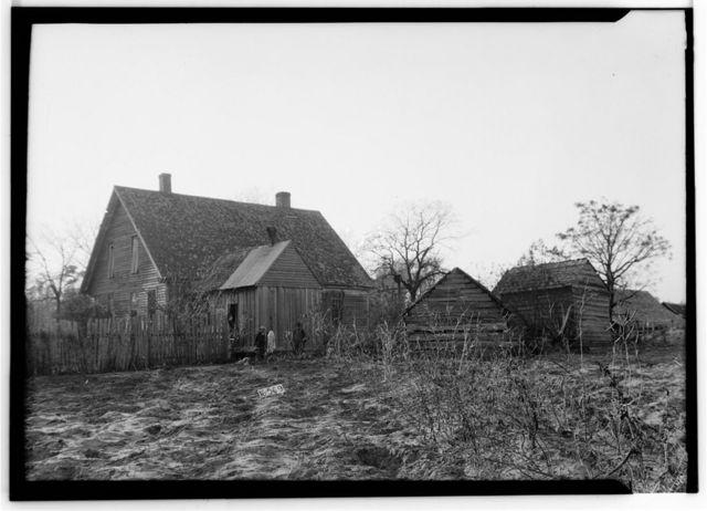 Nunnley-Bowden House, State Route 95, Gordon, Houston County, AL