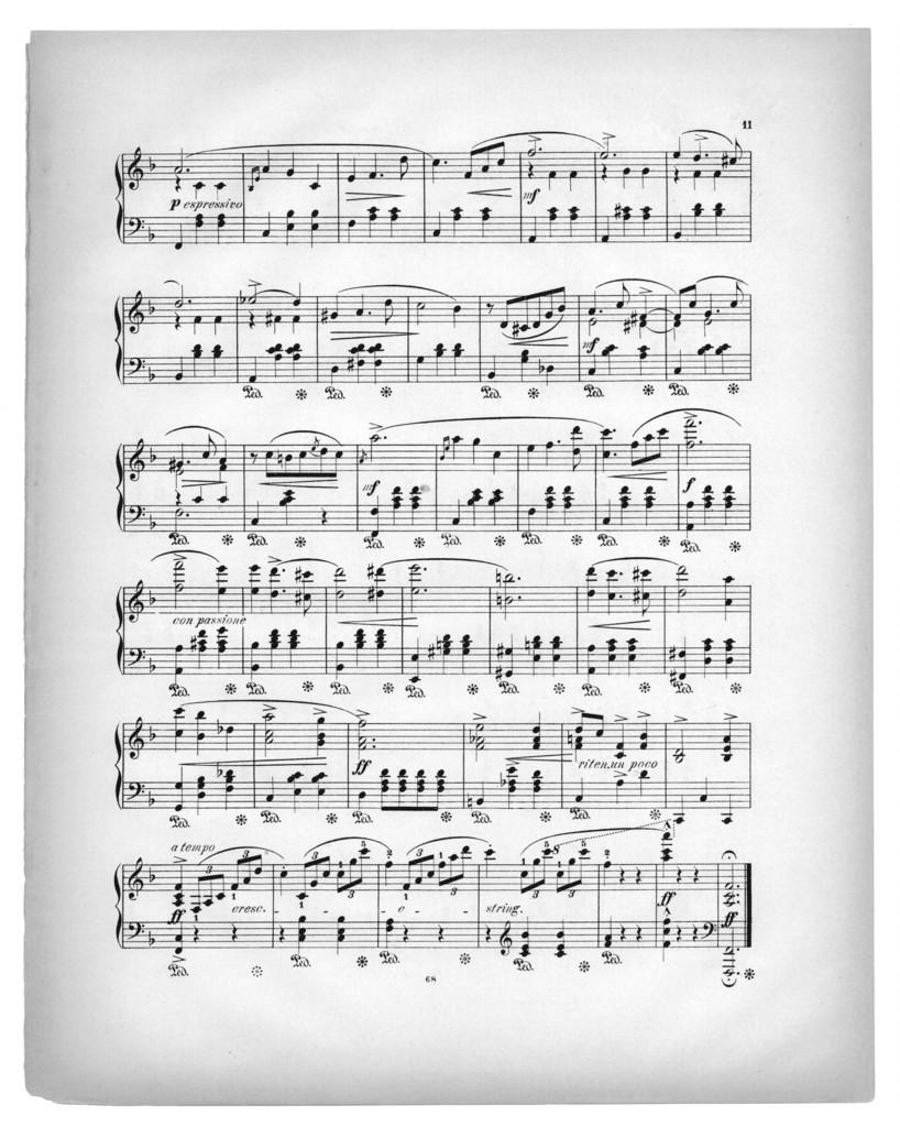 Nur aus liebe, op. 54