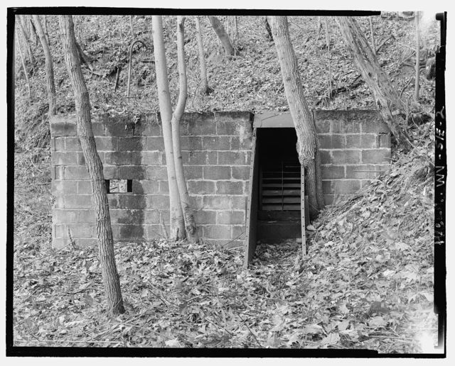 Nuttallburg Mine Complex, Fan House, North side of New River, 2.7 miles upstream from Fayette Landing, Lookout, Fayette County, WV