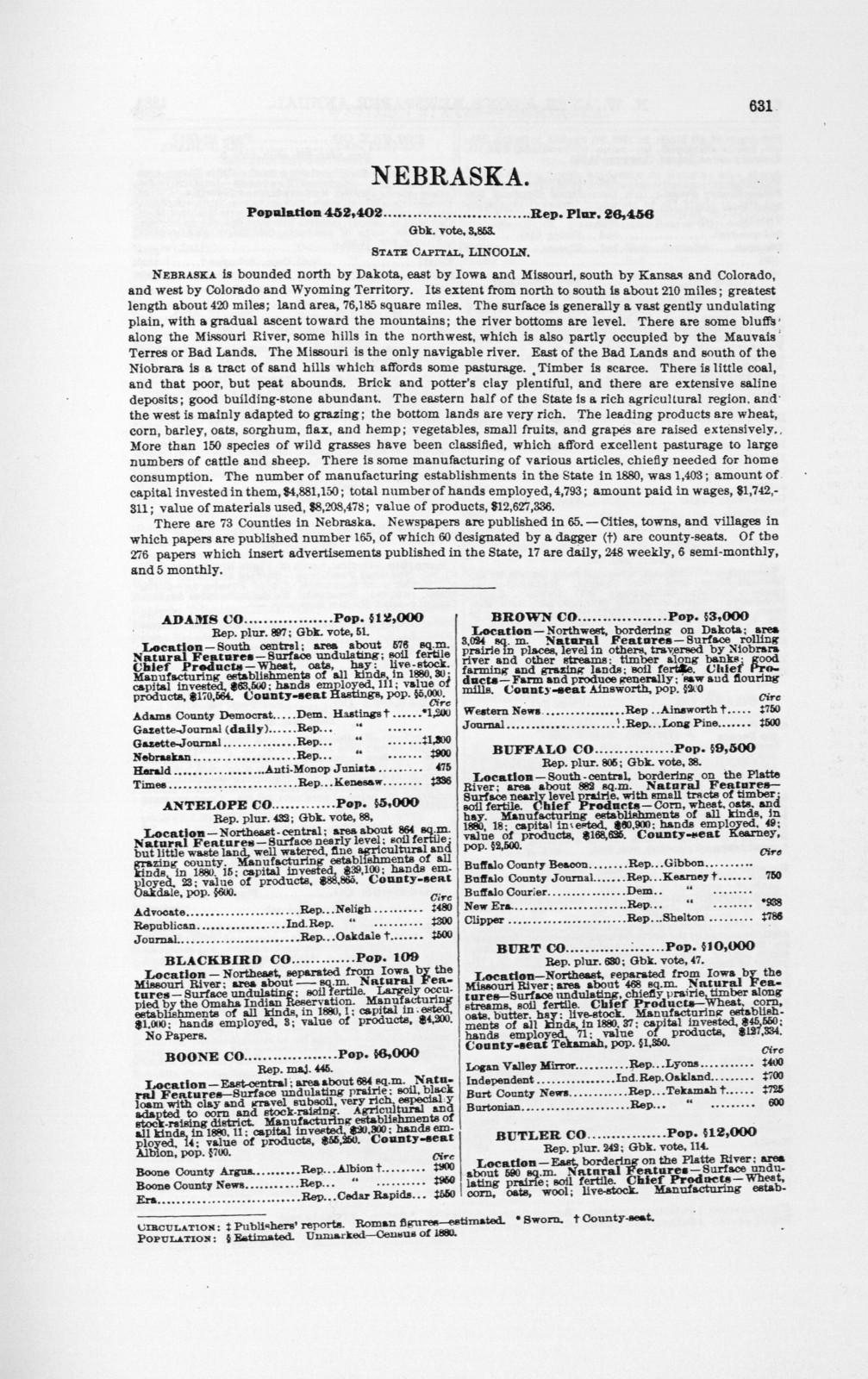 N.W. Ayer & Son's American newspaper annual.1908.Part III.
