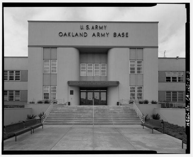 Oakland Army Base, Post Headquarters Building, Alaska & Africa Streets, Oakland, Alameda County, CA
