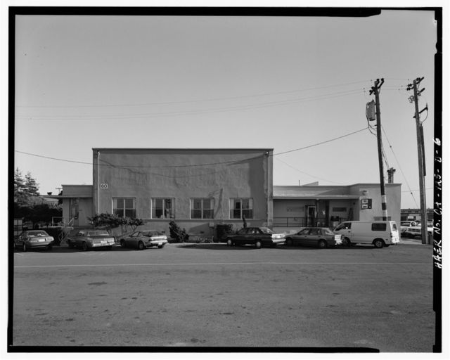 Oakland Army Base, Private Exchange Cafeteria, Bataan Avenue & Attu Street, facing Post Headquarters Building, Oakland, Alameda County, CA