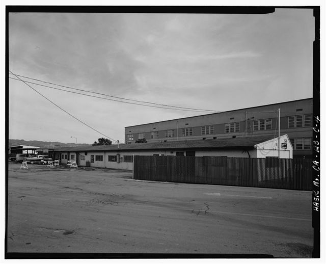 Oakland Army Base, Private Vehicle Inspection Building, Africa Street & Bataan Avenue, Oakland, Alameda County, CA