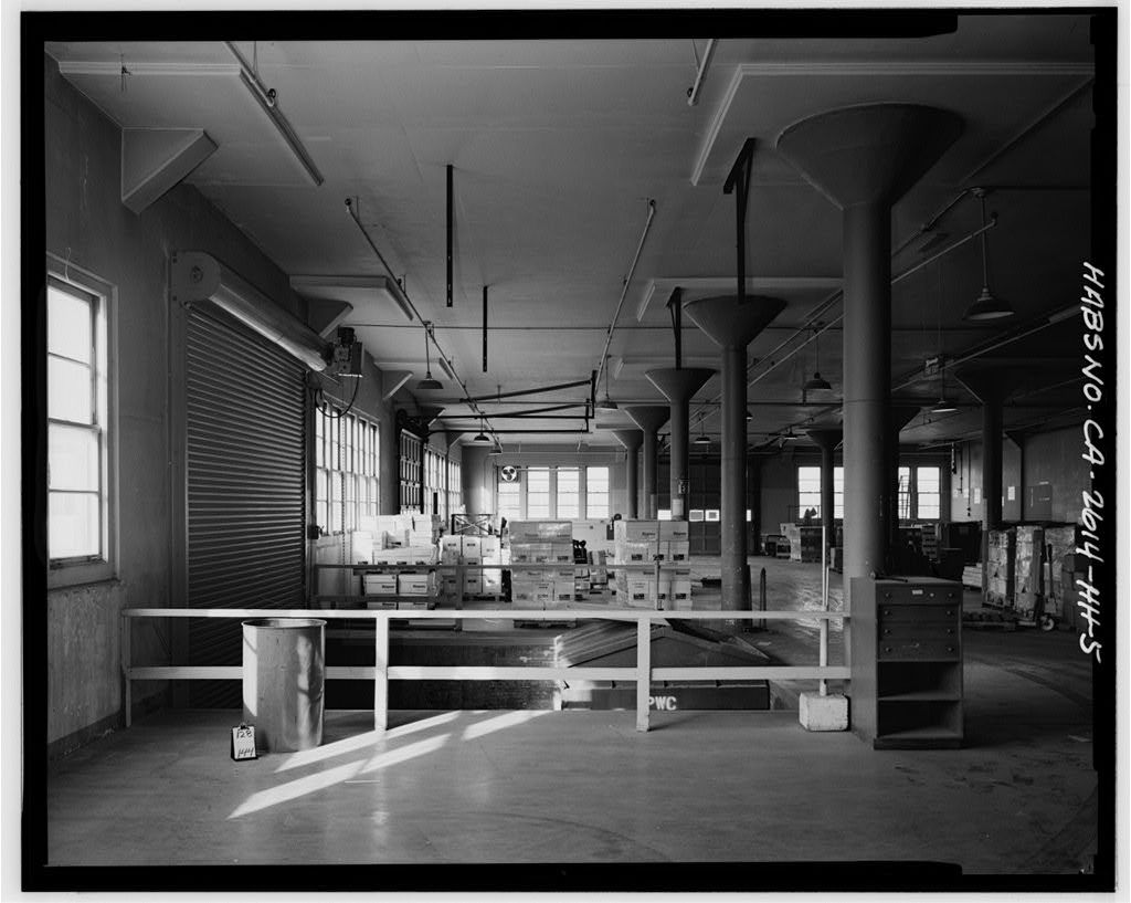 Oakland Naval Supply Center, Coffee Roasting Plant, East of Fourth Street, between J & K, Oakland, Alameda County, CA