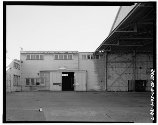 Oakland Naval Supply Center, Lumber Storage & Box Factory, East of Fifth Street, between H & I Streets, Oakland, Alameda County, CA