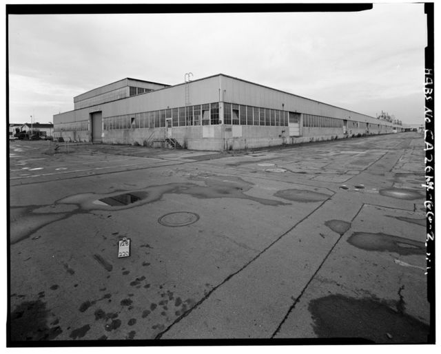 Oakland Naval Supply Center, Reserve Materials Storehouse, Between I & J Streets, between Fourth & Fifth Streets, Oakland, Alameda County, CA