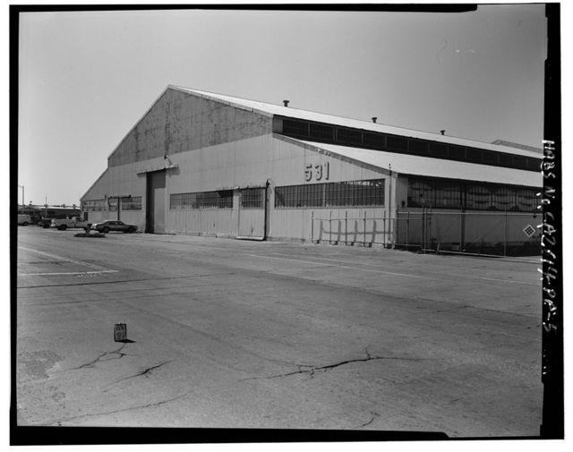Oakland Naval Supply Center, Storehouse, Between G & H Streets, & Fifth & Sixth Streets, Oakland, Alameda County, CA