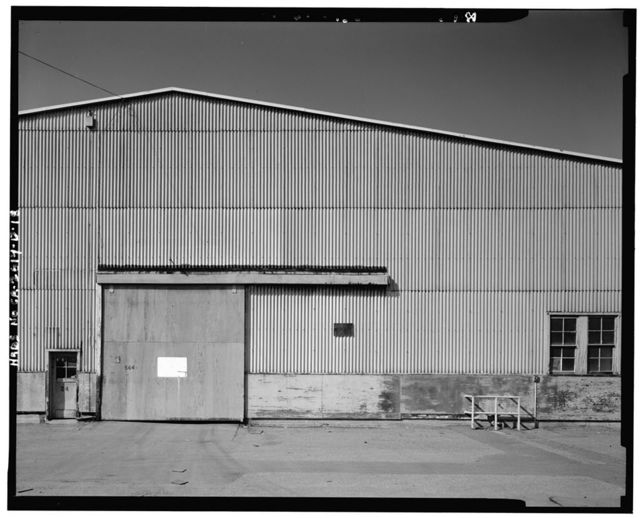 Oakland Naval Supply Center, Warehouse Type D, Maritime Street at Seventh Avenue, Oakland, Alameda County, CA