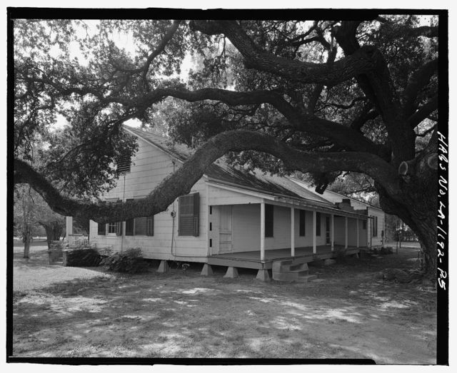 Oakland Plantation, Doctor's House, Route 494, Bermuda, Natchitoches Parish, LA