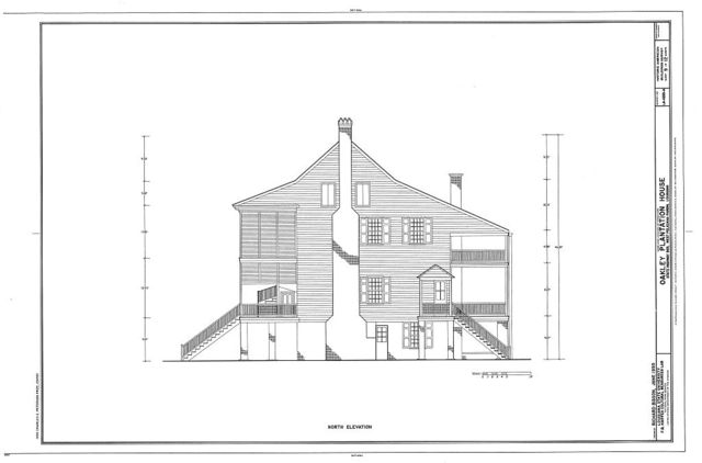 Oakley Plantation, House, State Highway 965, Saint Francisville, West Feliciana Parish, LA