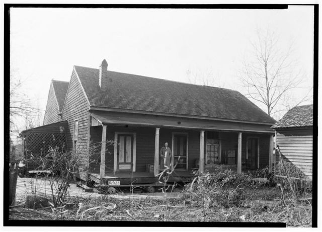 Oates-Danzey House, West Washington & Trawick Streets, Abbeville, Henry County, AL