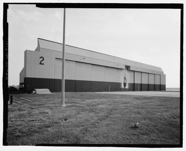 Offutt Air Force Base, Looking Glass Airborne Command Post, Nose Docks, On either side of Hangar Access Apron at Northwest end of Project Looking Glass Historic District, Bellevue, Sarpy County, NE