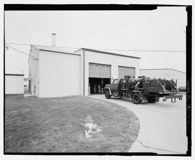 Offutt Air Force Base, Looking Glass Airborne Command Post, Vehicle Refueling Shop, In west corner of Project Looking Glass Historic District, Bellevue, Sarpy County, NE