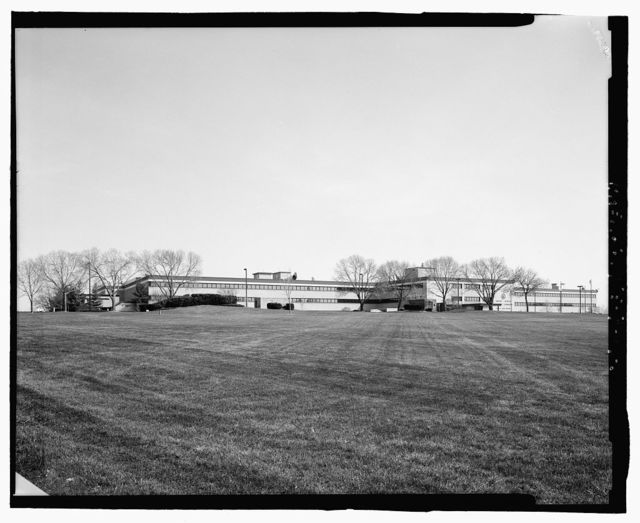 Offutt Air Force Base, Strategic Air Command Headquarters & Command Center, Headquarters Building, 901 SAC Boulevard, Bellevue, Sarpy County, NE