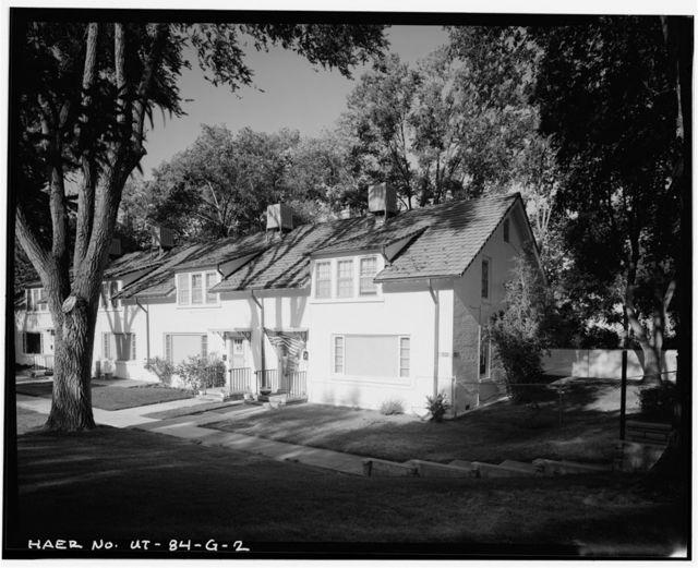 Ogden Arsenal, Family Quarters, East side of Arsenal Road, North of Georgia Street, Layton, Davis County, UT