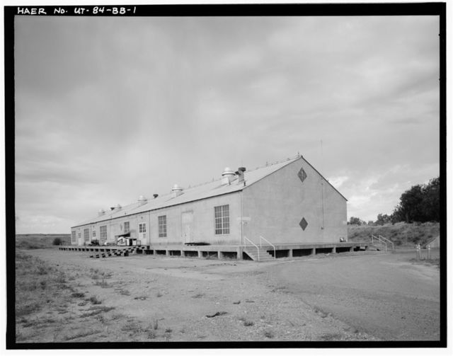 Ogden Arsenal, Warehouse, South side of Navajo Way, east of Maple Lane, Layton, Davis County, UT