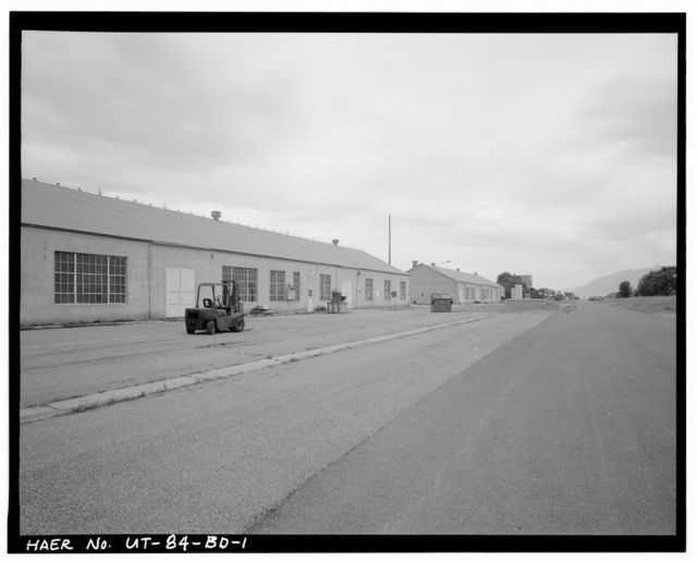 Ogden Arsenal, Warehouse, West side of Lemon Street, Layton, Davis County, UT