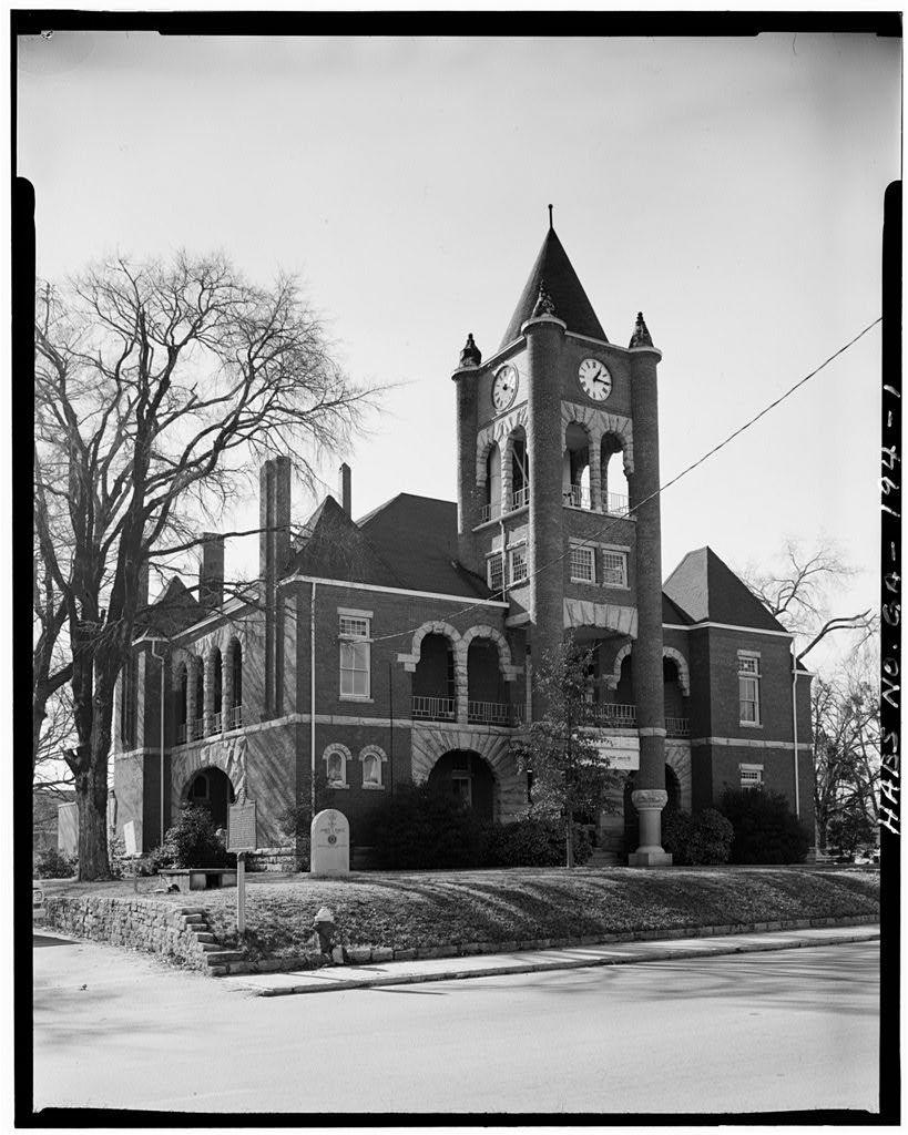 Oglethorpe County Courthouse, Town Square, Lexington, Oglethorpe County, GA