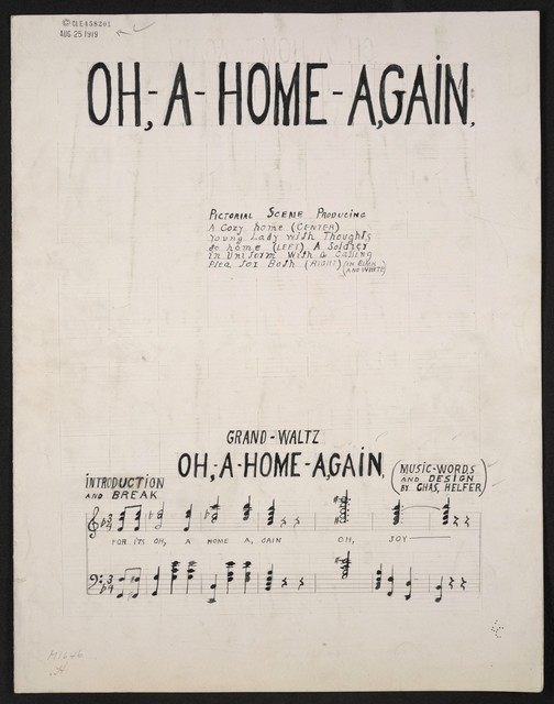 Oh- a - home -again