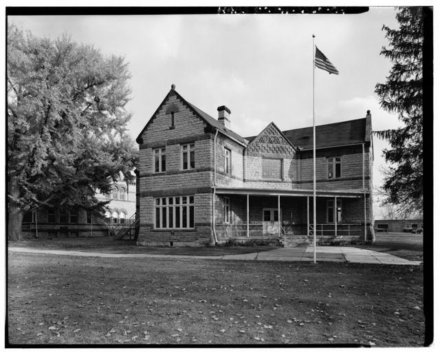 Ohio Soldiers' & Sailors' Home, Cottage L, U.S. Route 250 at DeWitt Avenue, Sandusky, Erie County, OH
