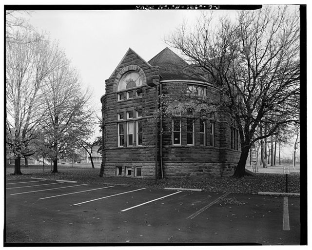Ohio Soldiers' & Sailors' Home, Library, U.S. Route 250 at DeWitt Avenue, Sandusky, Erie County, OH