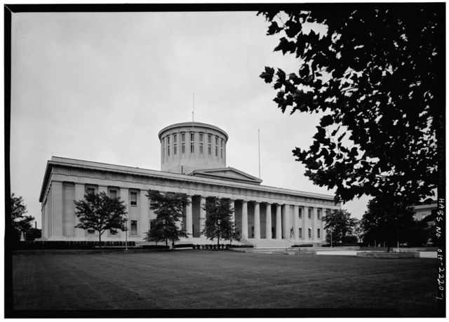 Ohio Statehouse & Annex, High & Broad Streets, Columbus, Franklin County, OH