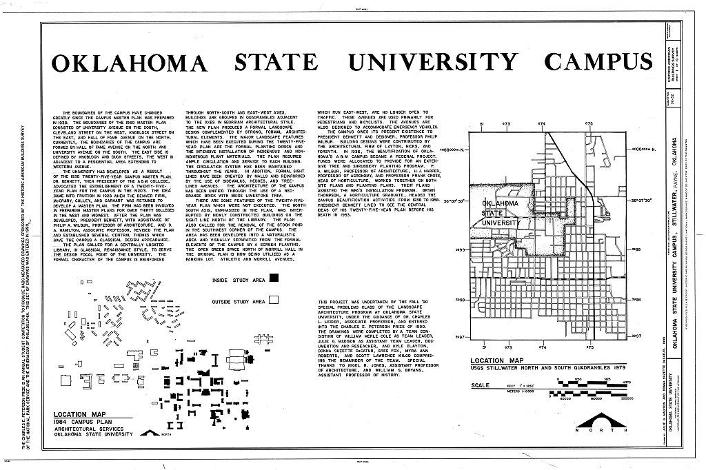 Oklahoma State University Campus, Stillwater, Payne County ...