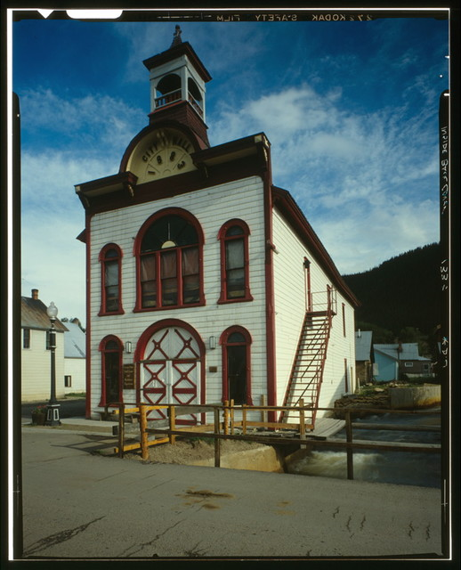 Old City Hall, Elk Avenue, Crested Butte, Gunnison County, CO