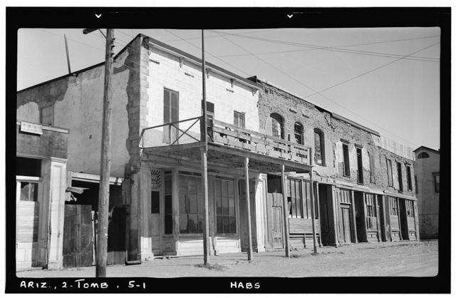 Old City Hall, Fremont Street, Tombstone, Cochise County, AZ