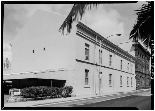 Old Courthouse, Queen Street between Fort & Bishop Streets, Honolulu, Honolulu County, HI