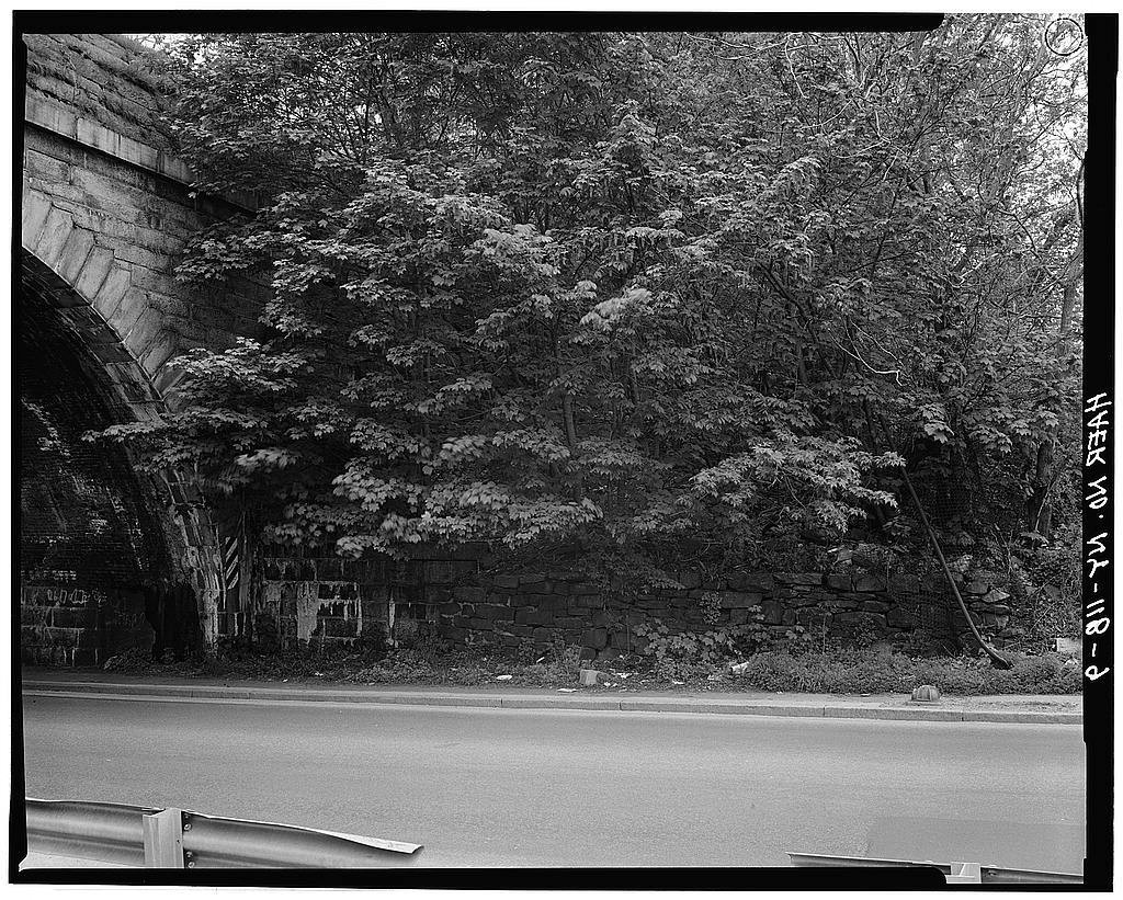 Old Croton Aqueduct, Saw Mill River Culvert, Spanning Nepperhan Avenue, Yonkers, Westchester County, NY