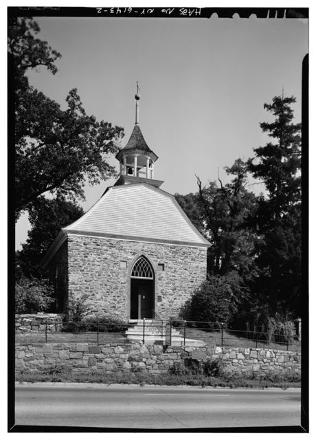 Old Dutch Reformed Church, Albany Post Road (U.S. Route 9), Tarrytown, Westchester County, NY