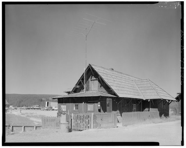 Old Faithful Inn, Caretaker's Residence, West Thumb, Teton County, WY