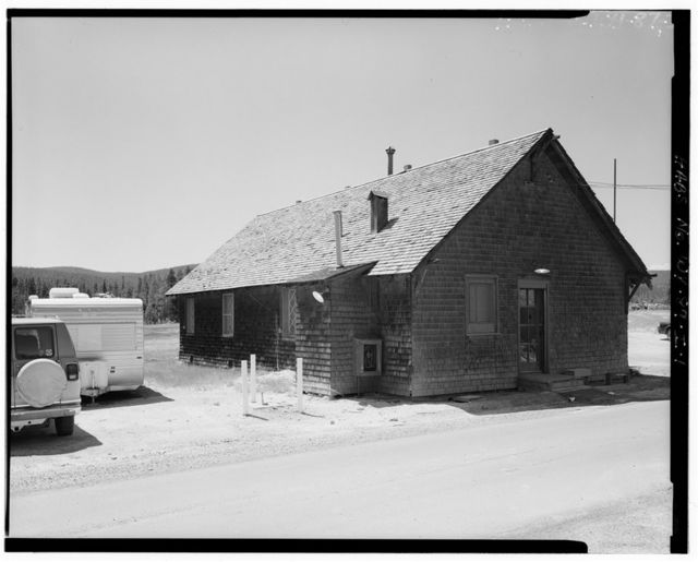 Old Faithful Inn, Employees' Dormitory, West Thumb, Teton County, WY