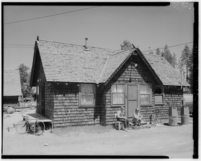 Old Faithful Inn, Engineer's Bunkhouse, West Thumb, Teton County, WY