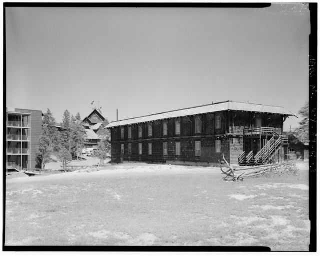 Old Faithful Inn, Girls' Dormitory, West Thumb, Teton County, WY
