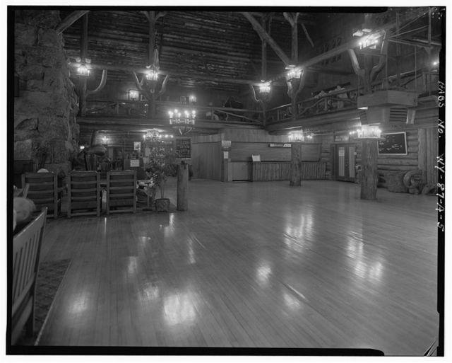 Old Faithful Inn, Inn Building, West Thumb, Teton County, WY