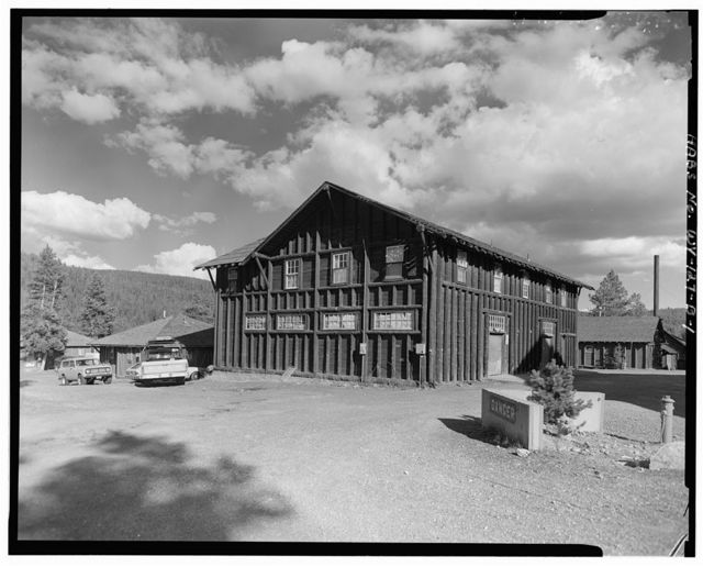 Old Faithful Lodge, Linen Building, 140' Northeast of Lodge Entrance, West Thumb, Teton County, WY