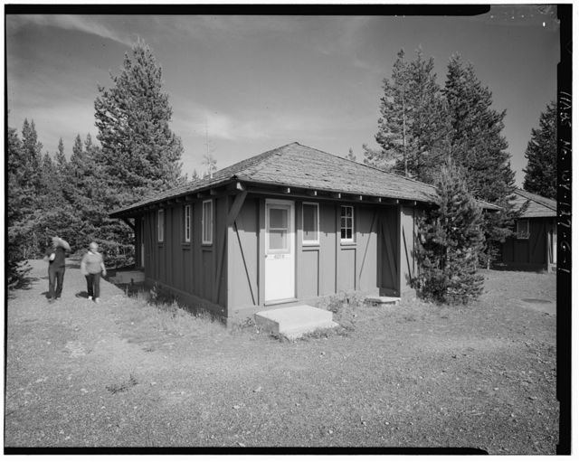 Old Faithful Lodge, Tourist Cabin Type M No. 403, 400' Northeast of Lodge Entrance, West Thumb, Teton County, WY