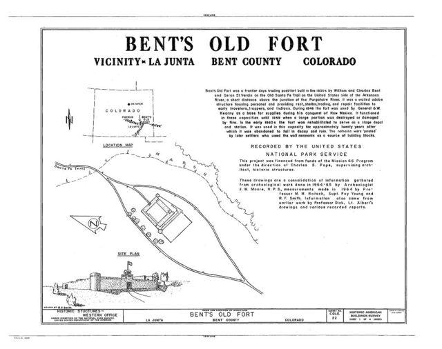 Old Fort Bent, La Junta, Otero County, CO