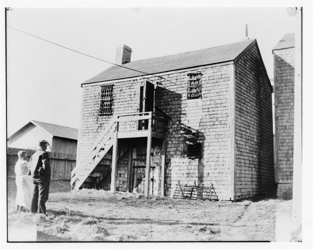 Old Gaol, Vestal Street (moved from original site), Nantucket, Nantucket County, MA