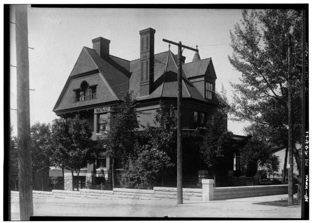Old Governors Mansion, 304 North Ewing Street, Helena, Lewis and Clark County, MT