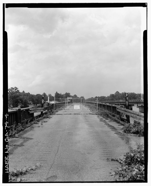 Old Kings Ferry Bridge, Spanning Ogeechee River on U.S. Route 17 & State Route 25, Georgetown, Chatham County, GA