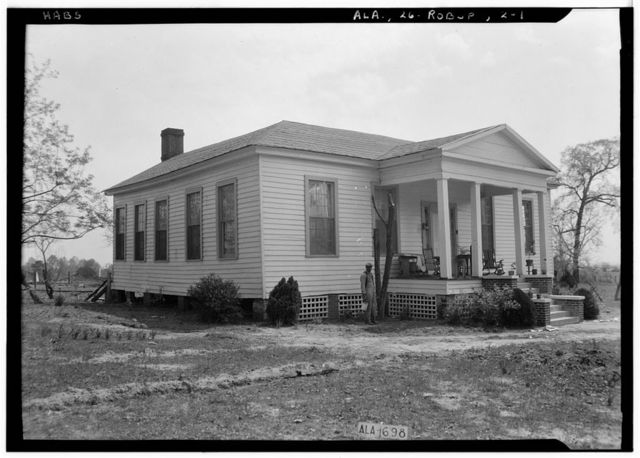 Old Methodist Parsonage, State Route 143, Robinson Springs, Elmore County, AL