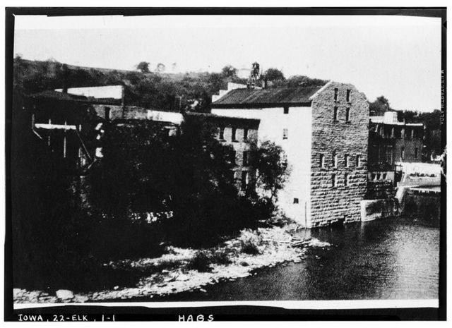 Old Mill on Turkey River, North Main Street, Elkader, Clayton County, IA