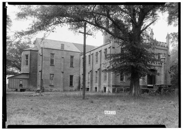 Old Southern University, University Avenue (College Street), Greensboro, Hale County, AL