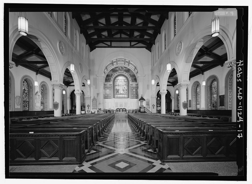 Old St. Paul's Episcopal Church, 233 North Charles Street, Baltimore, Independent City, MD