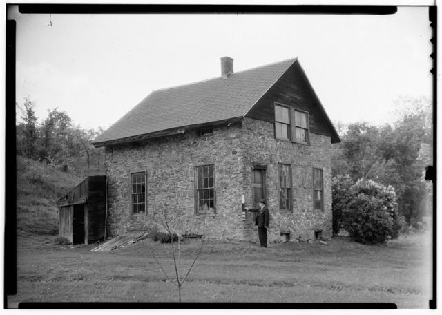Old Stone Building, Old Indian Ladder Road, Berne, Albany County, NY