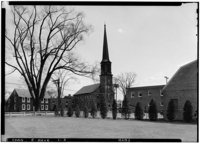 Old Stone Church (Congregational), 3 High Street, East Haven, New Haven County, CT