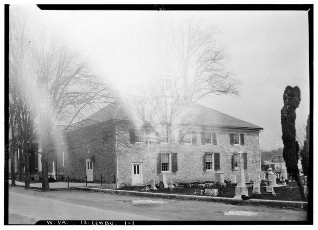 Old Stone Church (Presbyterian), Church Street, Lewisburg, Greenbrier County, WV